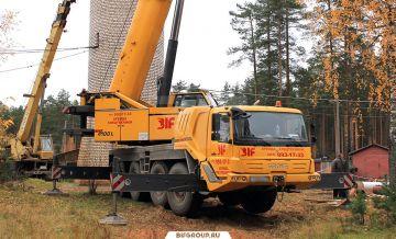 Аренда автокрана Grove GMK4100L грузоподъемностью 100 тонн