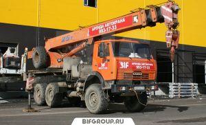 Аренда автокрана вездехода в Санкт-Петербурге