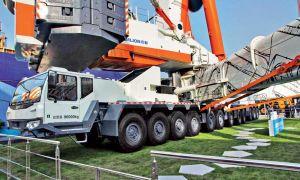 Самый большой автокран в мире Zoomlion ZACB01